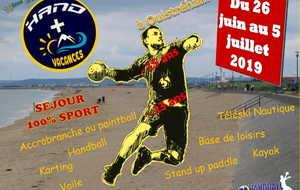 Colo été 2019 (Comité Départemental Handball)